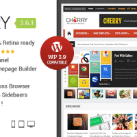 دانلود قالب مجله ای راستچین وردپرس CherryMag v3.6
