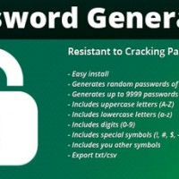 اسکریپت ساخت پسورد قدرتمند FPG Password Generator