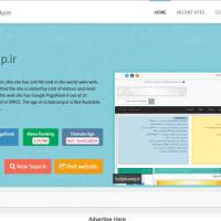 اسکریپت خدماتی نمایش سئو سایت Turbo SEO Analyzer 1.4