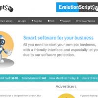 نسخه جدید اسکریپت تبلیغات کلیکی Evolution Script v5.0