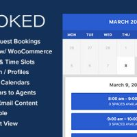 دانلود افزونه Booked v2.2.3 – Appointment Booking for WordPress