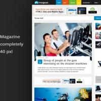 دانلود قالب متفاوت مجله ای وردپرس Mogoze v1.9