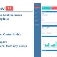 اسکریپت نرم افزار حسابداری PHP آنلاین MoneyFlow نسخه ۳.۰