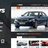 قالب وردپرس ماشین Motors v2.3 – Car Dealership WordPress Theme