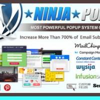 دانلود افزونه پاپ باکس Ninja Popups برای وردپرس