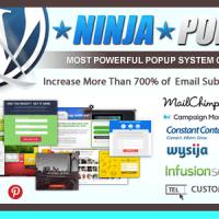 افزونه پاپ آپ وردپرس Ninja Popups v3.0.2