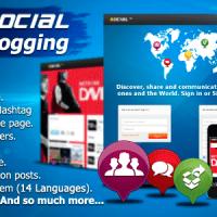 دانلود اسکریپت میکروبلاگ پیشرفته PHP Social Microblogging V2.6