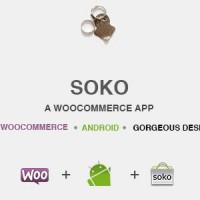 اپ اندورید برای ووکامرس با Soko app
