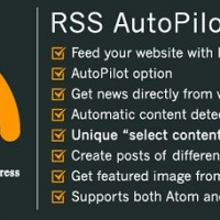 RSS AutoPilot نام افزونه خبرخوان وردپرس