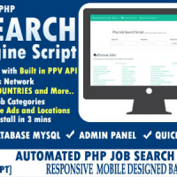 اسکریپت جستجو کار Automated Job Search Engine Script
