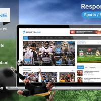 قالب بسیار زیبای Sportsline برای وردپرس راستچین شده