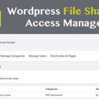 افزونه مدیریت آپلود و دانلود وردپرس WP FSAM v1.0