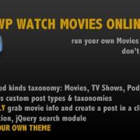 دانلود افزونه پخش ویدئو در وردپرس WP Watch Movies