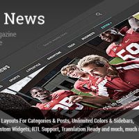 Weekly News v2.5.4 – WordPress News/Magazine Theme