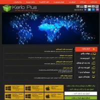 دانلود قالب زیبای فروش اکانت به صورت html
