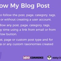دانلود افزونه Follow My Blog Post WordPress Plugin v1.9.6