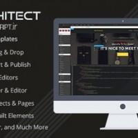 طراحی قالب HTML به صورت آنلاین با اسکریپت Architect نسخه 1.3