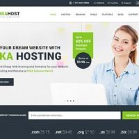 قالب HTML خدمات میزبانی وب ArkaHost