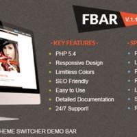اسکریپت نمایش دموی قالب ها و اسکریپت ها FBar نسخه 1.3