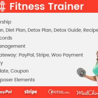 دانلود افزونه Fitness Trainer v1.2.3 – Training Membership Plugin