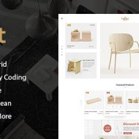 دانلود قالب  Hurst – Furniture Store eCommerce HTML Template