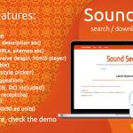 ایجاد سایت جستجوی موزیک SoundSeeker v1.7