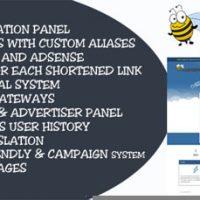 اسکریپت کوتاه کننده لینک و کسب درآمد LinkGen نسخه 1.1