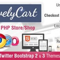 اسکریپت فروشگاه ساز ایجکس اینترنتی LivelyCart نسخه ۱.۲.۲