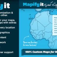 افزونه نقشه های سفارشی گوگل برای وردپرس Mapify.it v2.7.2