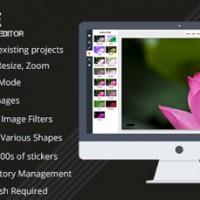 اسکریپت ویرایشگر آنلاین تصاویر Pixie نسخه 1.2