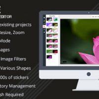 اسکریپت ویرایشگر آنلاین تصاویر Pixie نسخه 1.4