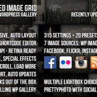 افزونه گالری پیشرفته وردپرس Justified Image Grid v2.0.4