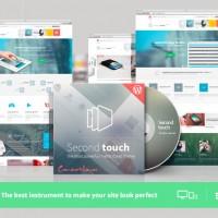 دانلود قالب وردپرس شرکتی Touch