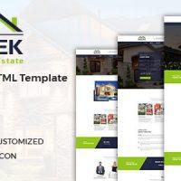دانلود قالب راست چین شده Sheltek – Real Estate HTML Template + RTL