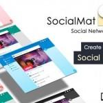 دانلود رایگان اسکریپت حرفه ای SocialMat v1.3