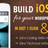 نسخه ios برای سایت شما iWappPress Builds iOS App for any wordpress website