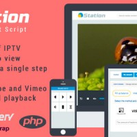 اسکریپت ایجاد سایت نمایش عکس و فیلم hStation v1.1