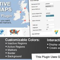دانلود افزونه Interactive World Maps v2.3.3.1