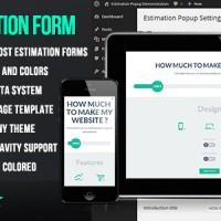 افزونه ایجاد فرم های فلت بی نظیر در وردپرس WP Flat Cost Estimation Form Creator v1.6